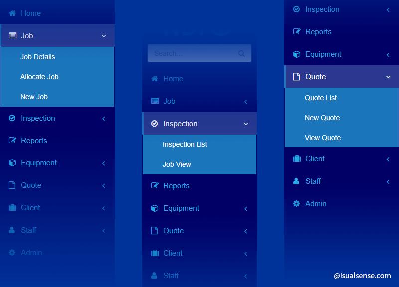 菜單驅動的用戶界面設計 Menu-driven User Interface