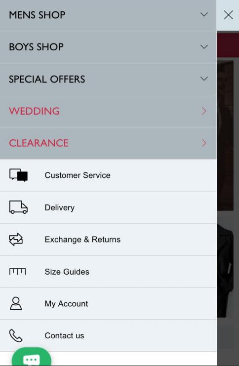 顯示客戶服務