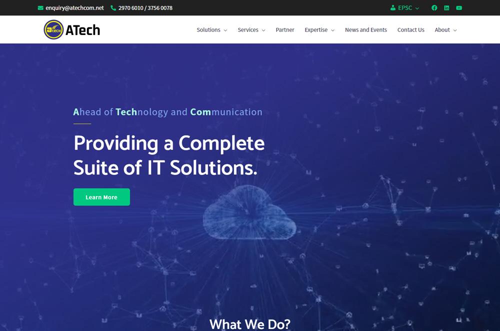 atechcom website revamp