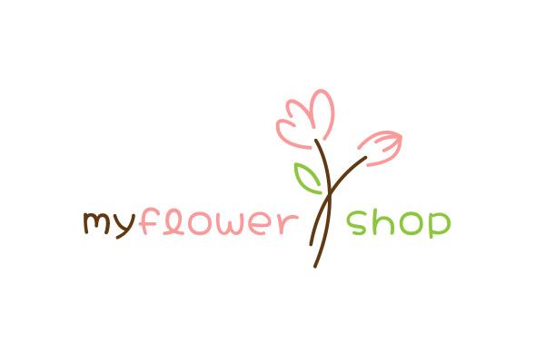 My Flower Shop Logo Design